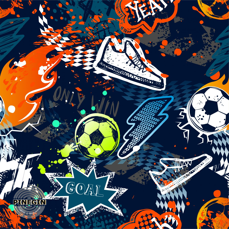 Фотообои «Футбольное граффити »