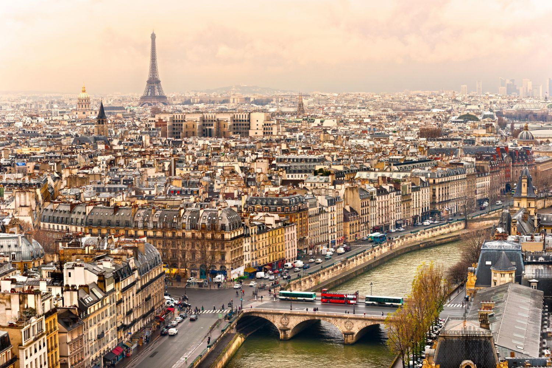 Фотообои «Окрестности Парижа»