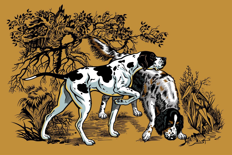 Фрески «Собаки 1»