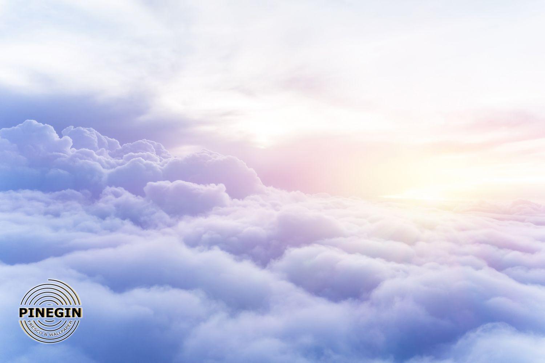 Фотообои «Фиолетовые облака»