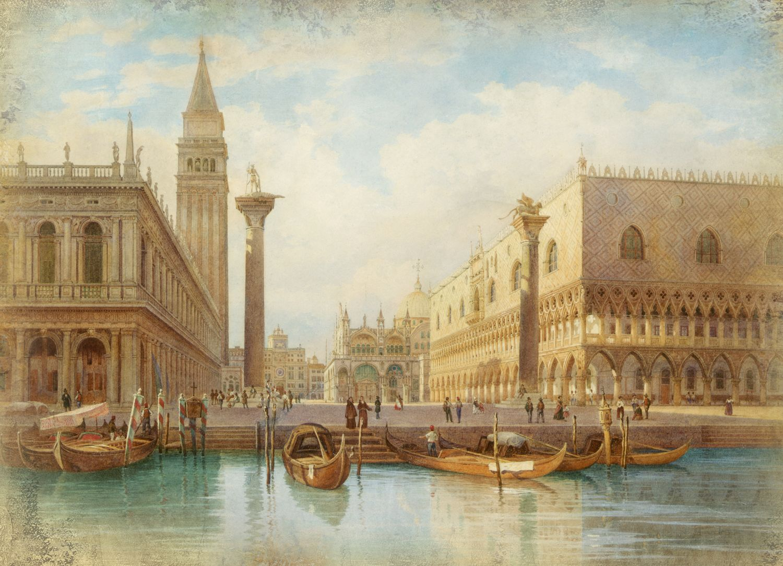 Фотообои «Достопримечательности Венеции»