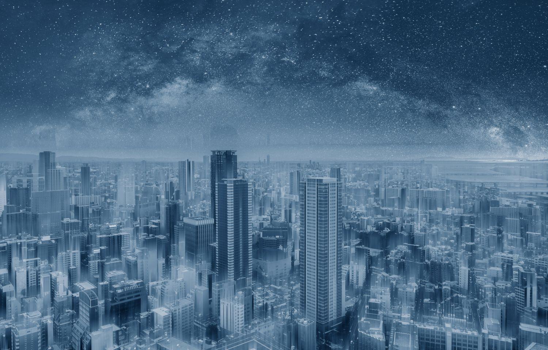Фотообои «Звездная ночь»