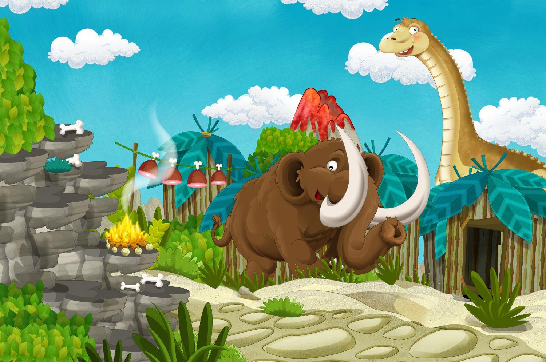 Фрески «Динозавры 23»