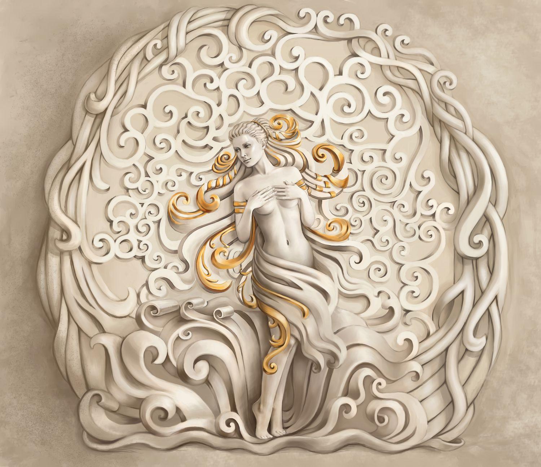 Фотообои «Прекрасная богиня»