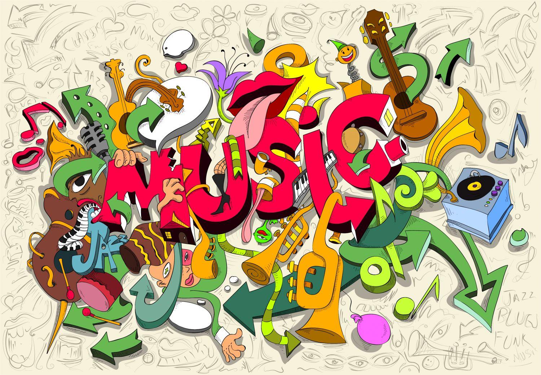 Фрески «Музыка 5»