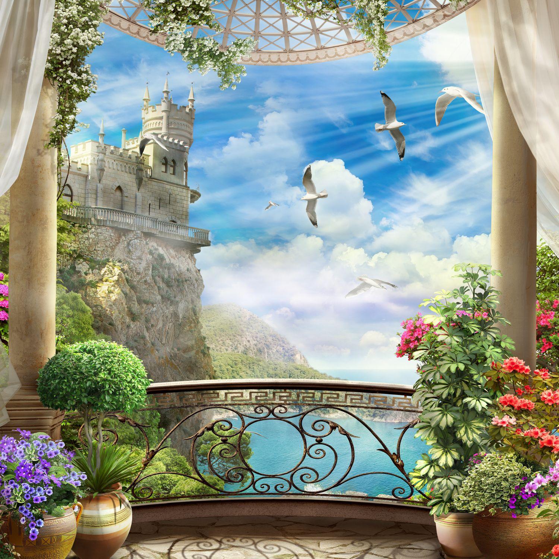 Фотообои «Замок Ласточкино гнездо»