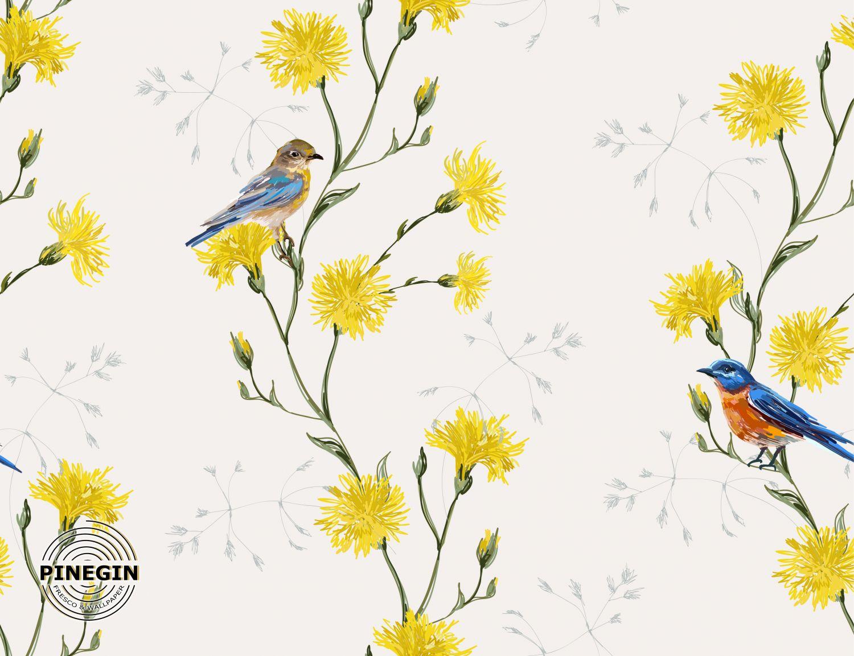 Фрески «Луговые цветы»