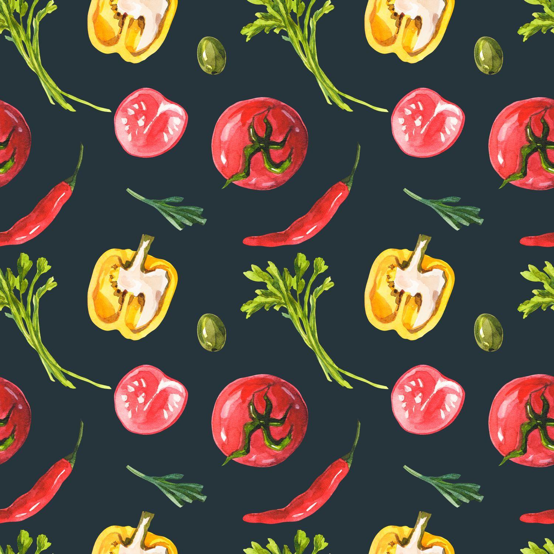 Фрески «Овощи 15»