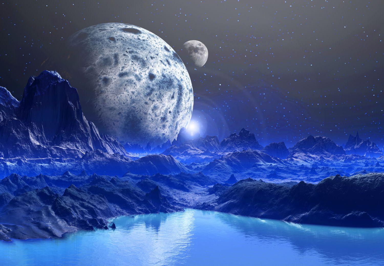 Фотообои «Космический ландшафт»