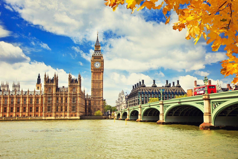 Фотообои «Осень в Лондоне»