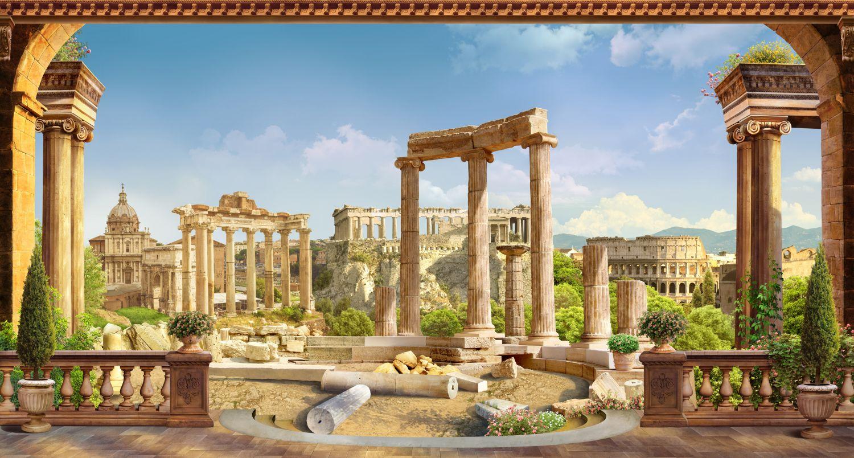 Фотообои «Древняя архитектура»