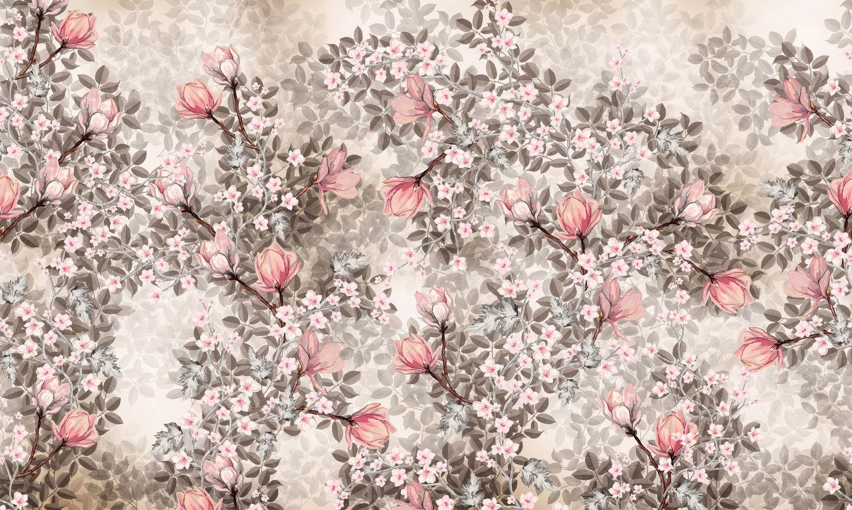 Фотообои «Соцветия магнолий»