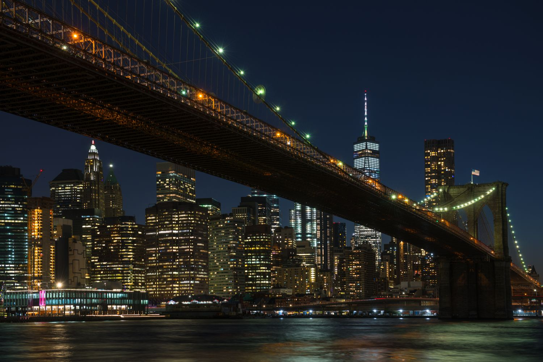 Фотообои «Америка ночью»