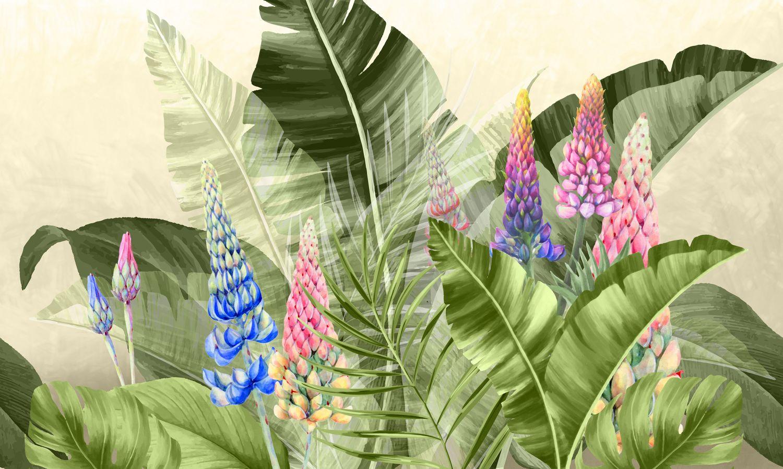 Фотообои «Волшебные листья»