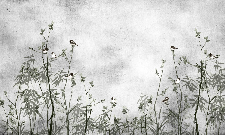 Фотообои «Туманное деревце»