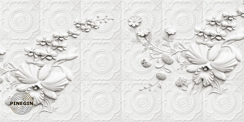 Фотообои «Белая стена»