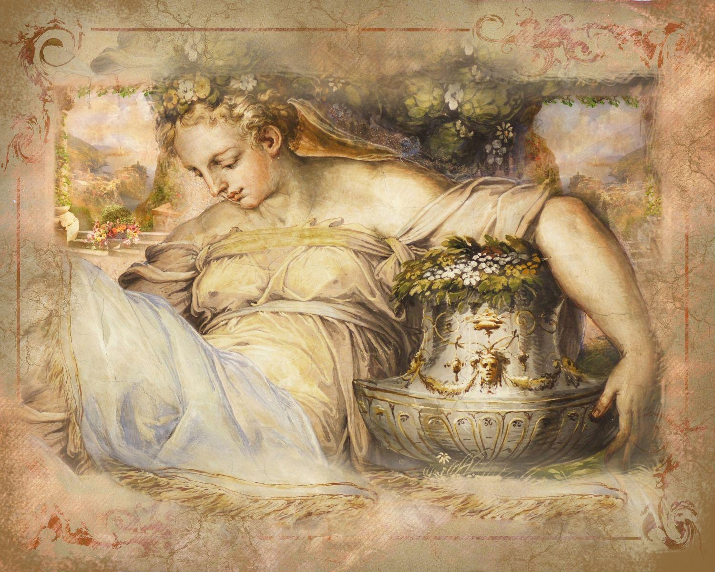 Фотообои «Флорентийская фреска»