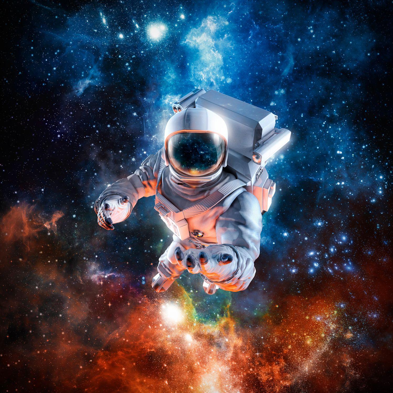 Фотообои «Полёт астронавта »