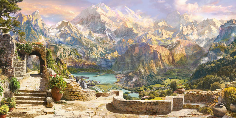 Фотообои «Горный пейзаж»