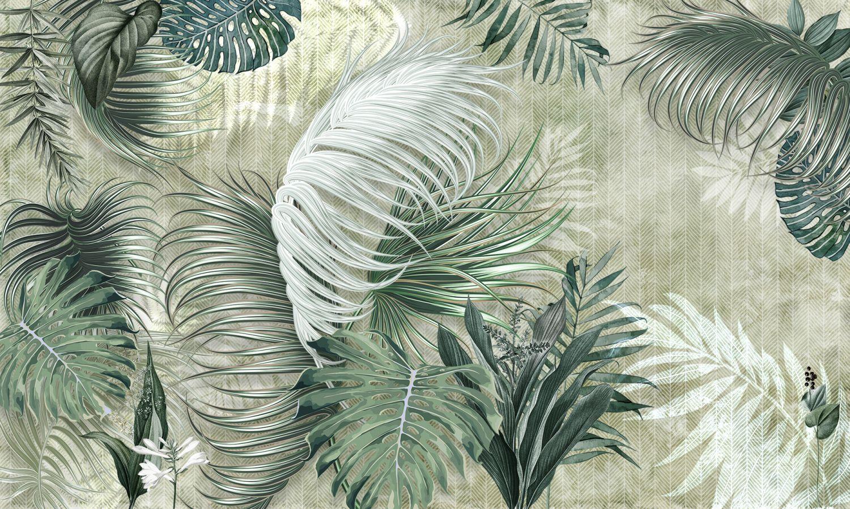 Фотообои «Красивые листья пальмы»