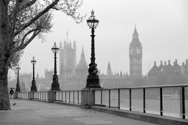 Фотообои «Черно-белый Лондон»