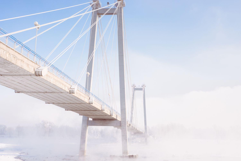 Фрески «Мосты в тумане 4»
