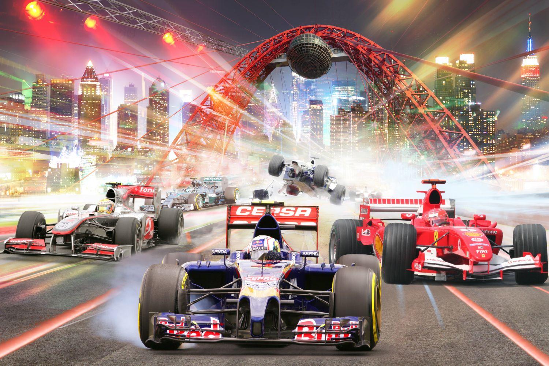 Фотообои «Гонки Формула 1»
