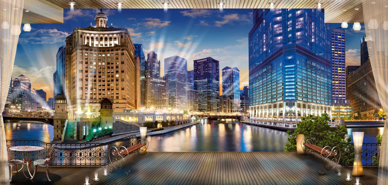 Фотообои «Городской пейзаж»