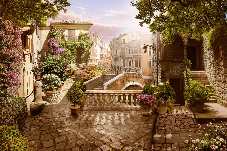Фотообои «Утренняя Италия»