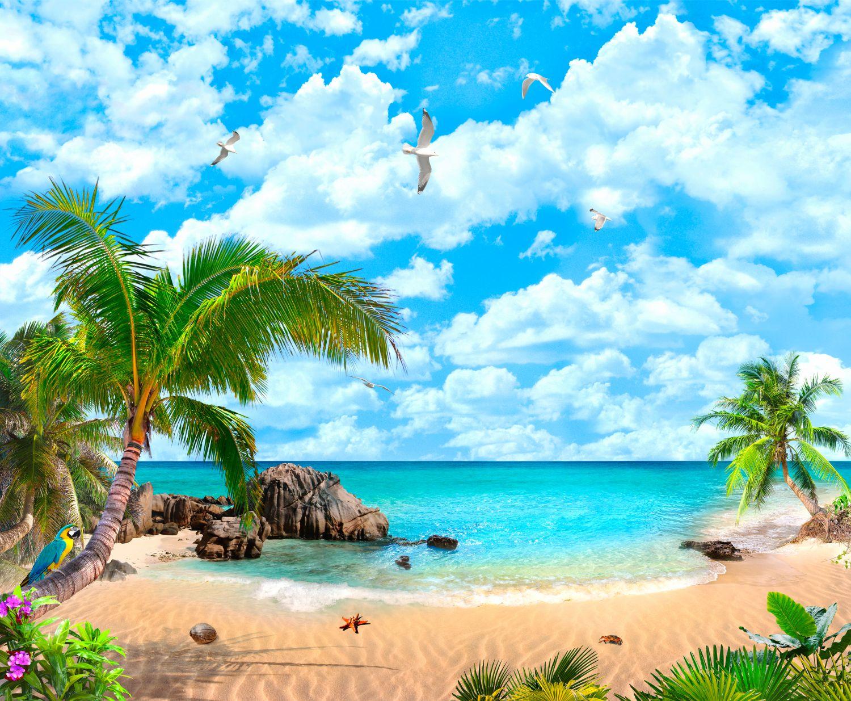 Фотообои «Безлюдный остров»
