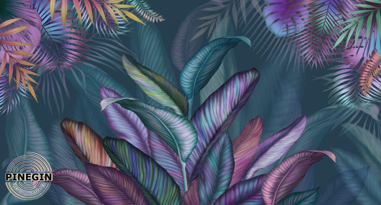 Фотообои «Тропические листья»