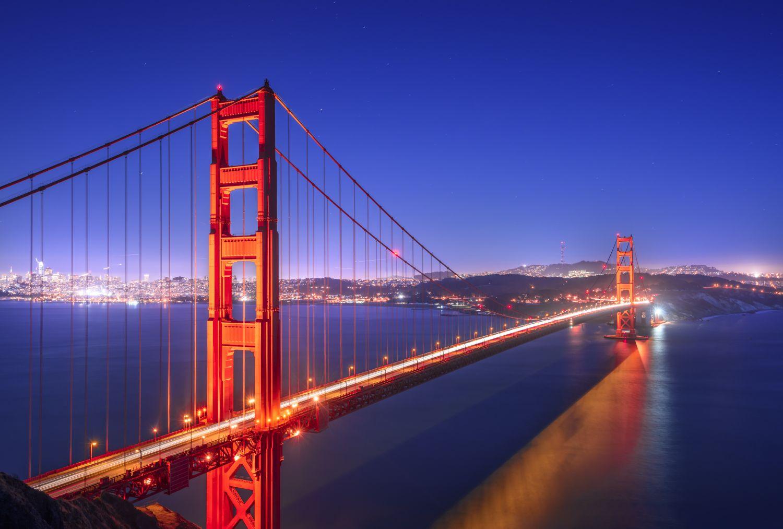 Фрески «Ночные мосты 5»