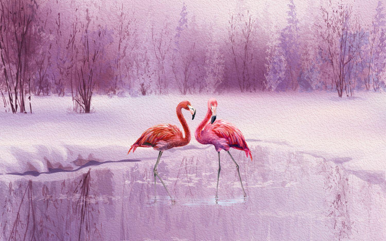 Фрески «Фламинго»