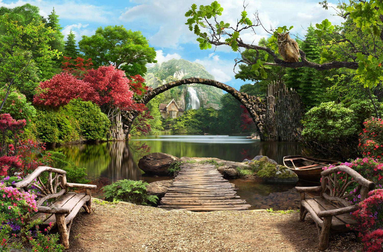 Фотообои «Дивный пейзаж»