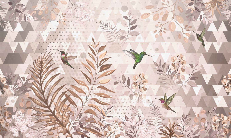 Фотообои «Бархатистые листья»
