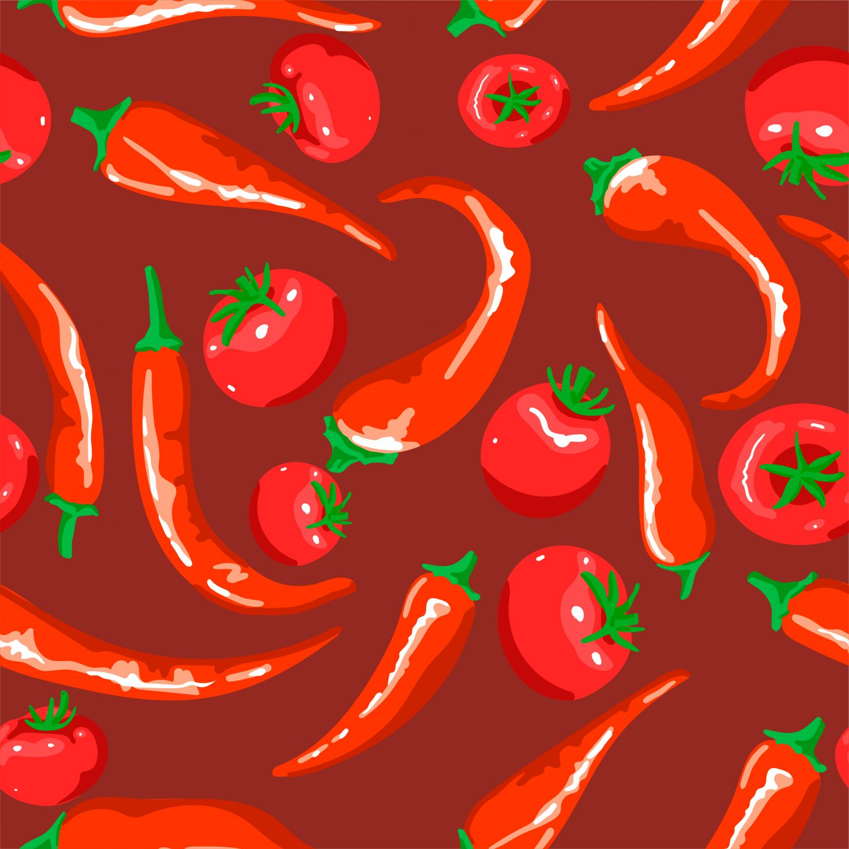 Фрески «Овощи 25»