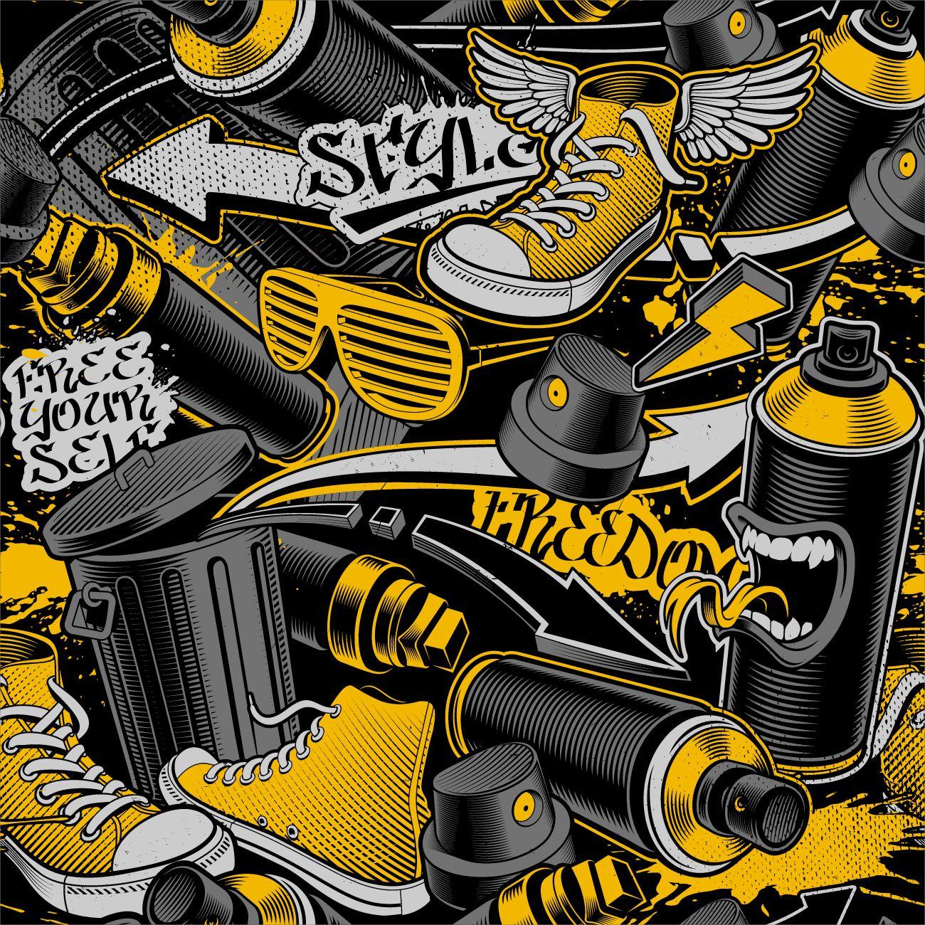 Фрески «Граффити 7»
