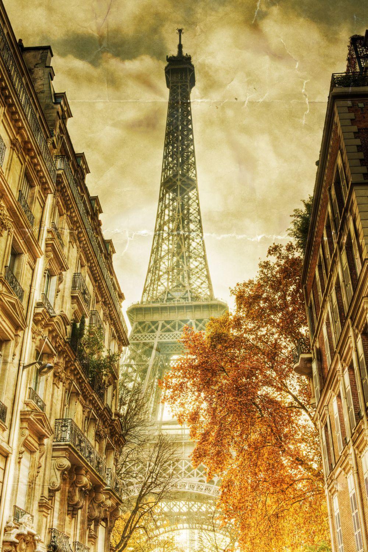 Фрески «Париж ретро фото»
