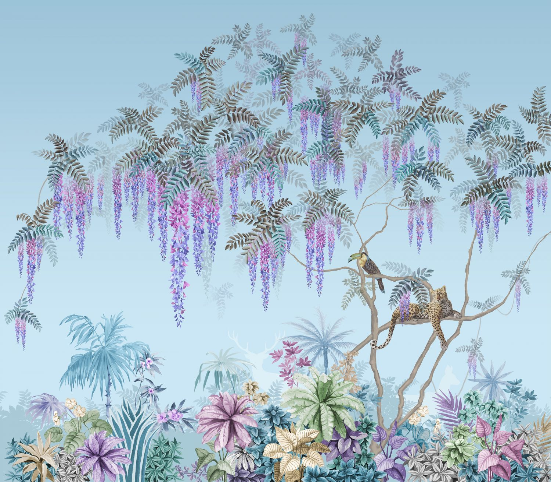 Фотообои «Глицинии экзотика»