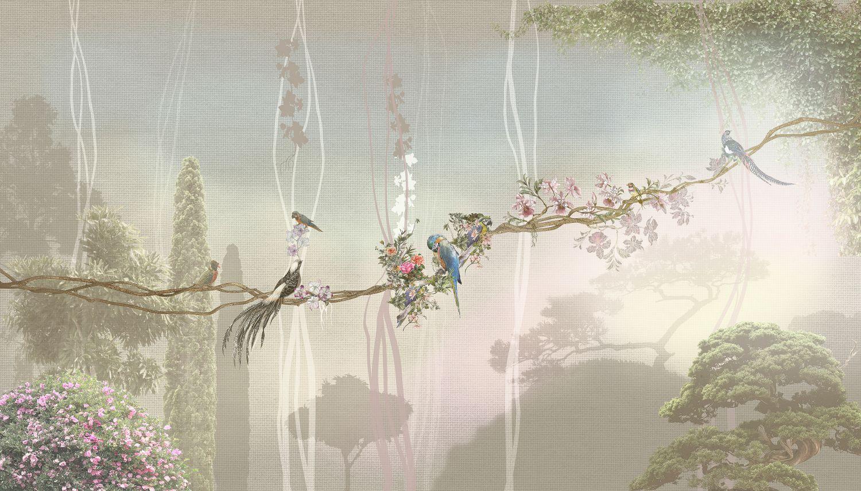 Фотообои «Сказочные джунгли»
