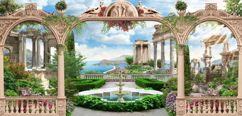 Фотообои «Античная архитектура»