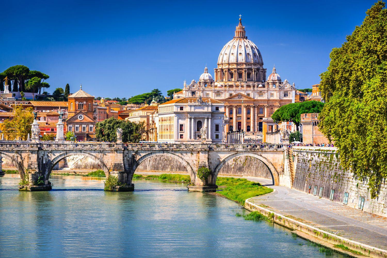 Фотообои «Рим - Базилика Святого Петра»