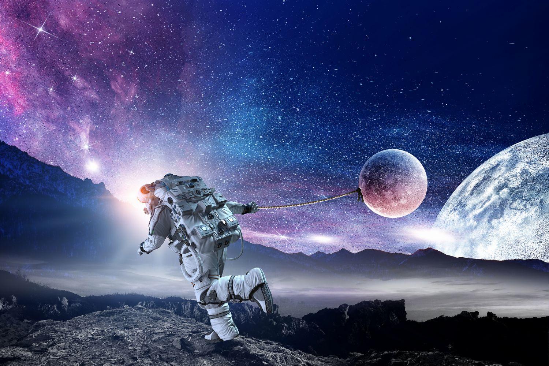 Фотообои «Сон космонавта »