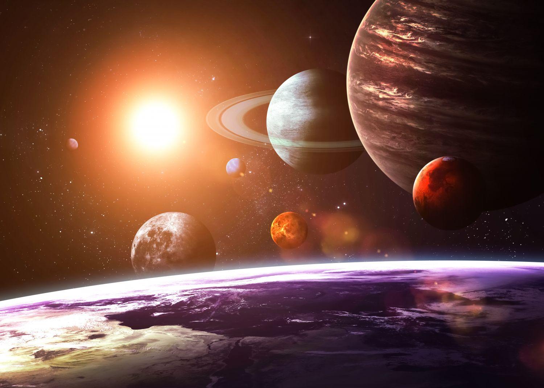 Фотообои «Земля и космос »