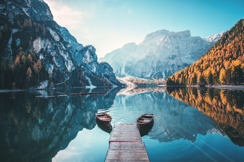 Фотообои «Озеро в горах »