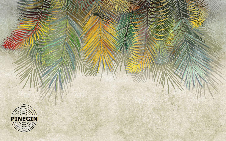 Фрески «Разноцветные листья»