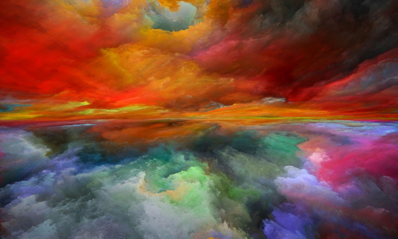 Фотообои «Небо над облаками»