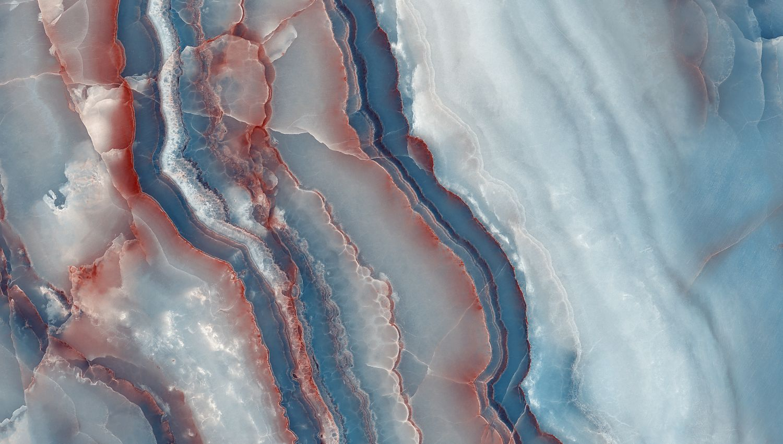 Фотообои «Терракотовый во льду »