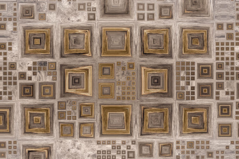 Фотообои «Мозаика из дерева»