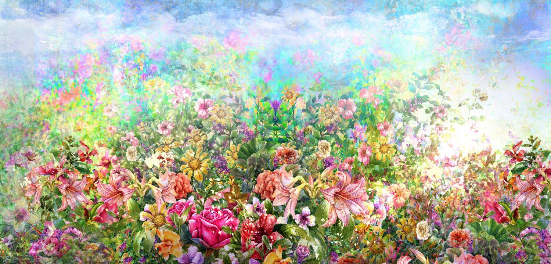 Фотообои «Поляна цветов»